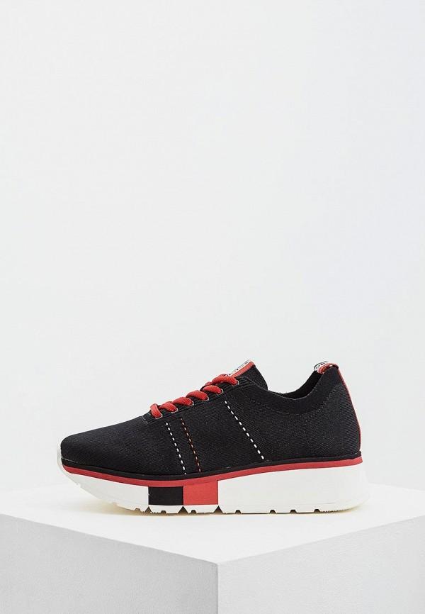 Фото - женские кроссовки Fabi черного цвета