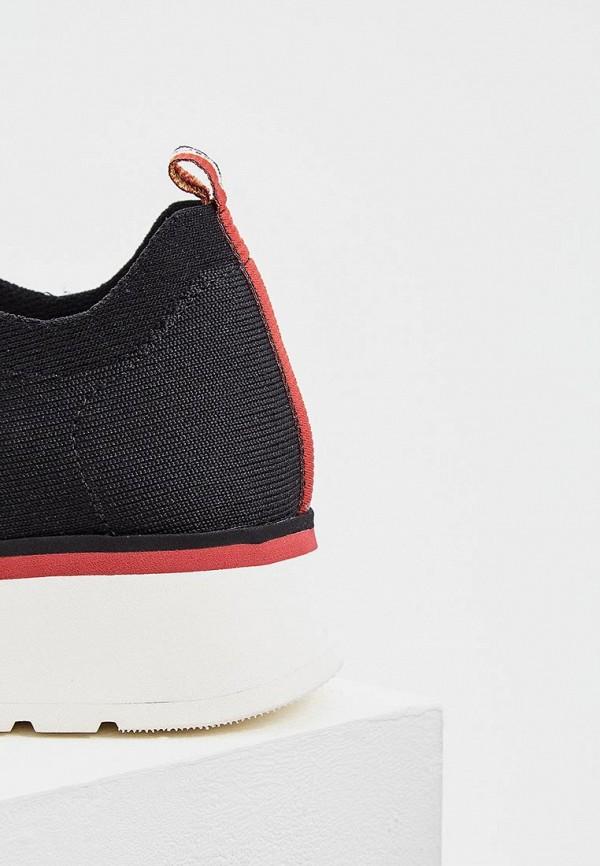 Фото 4 - женские кроссовки Fabi черного цвета