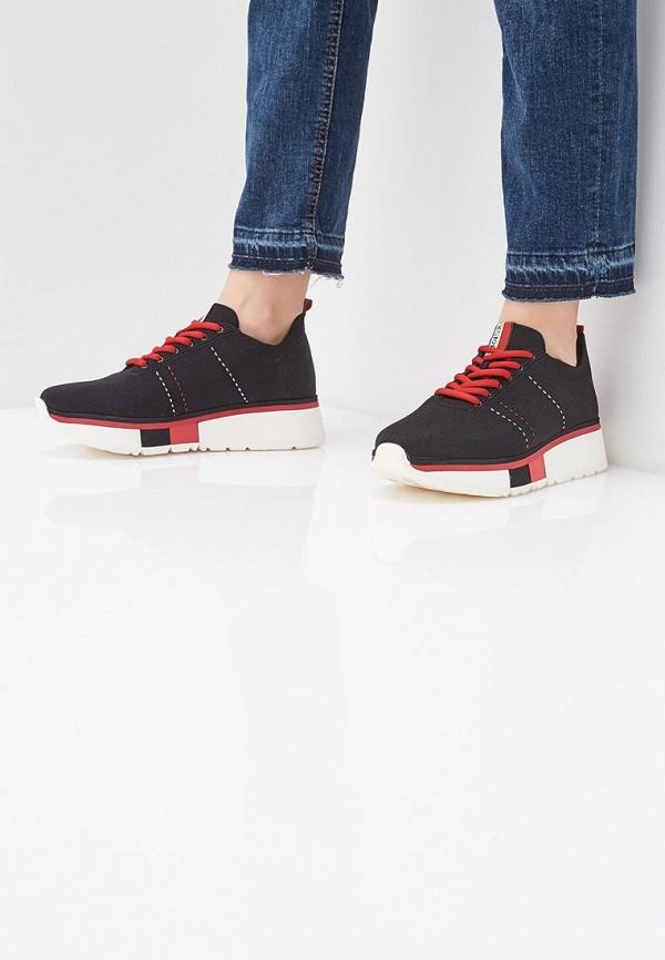 Фото 6 - женские кроссовки Fabi черного цвета