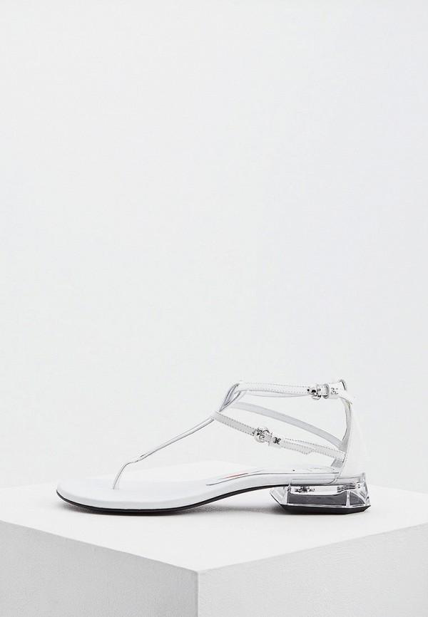 женские сандалии fabi, белые