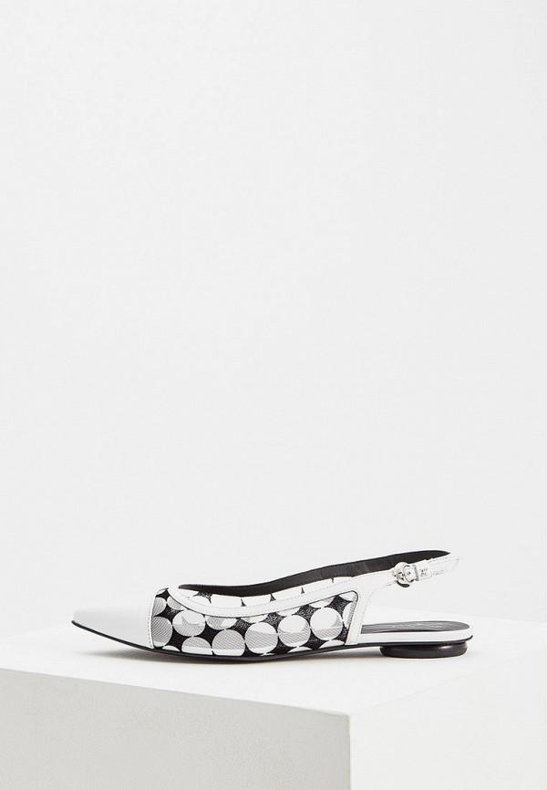 женские туфли fabi, белые