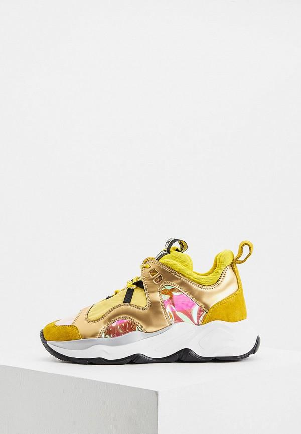 женские кроссовки fabi, желтые