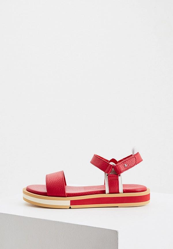 женские сандалии fabi, красные