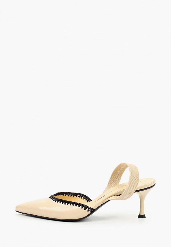 женские туфли fabi, бежевые