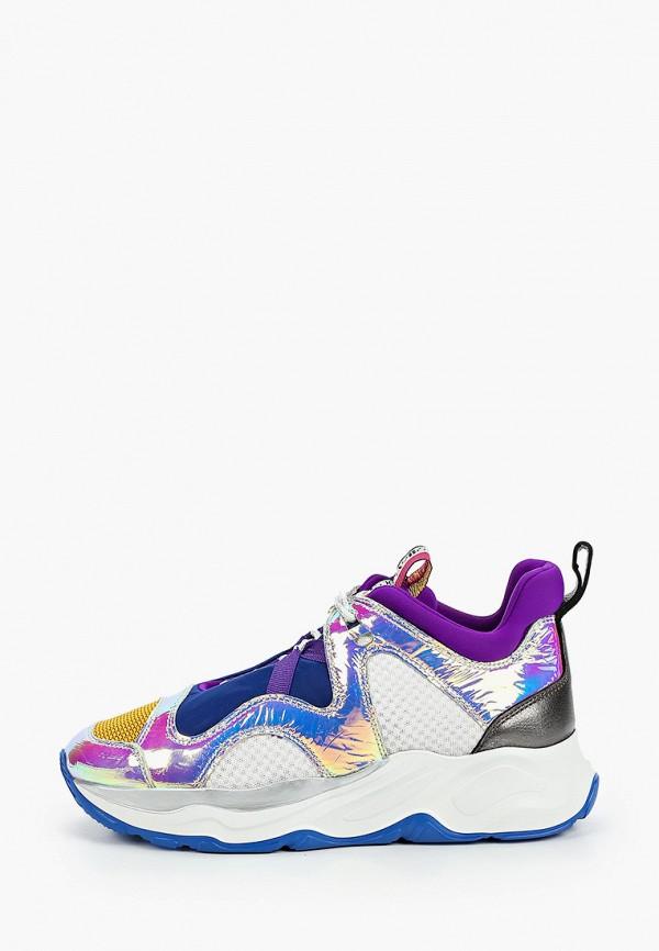 женские низкие кроссовки fabi, разноцветные
