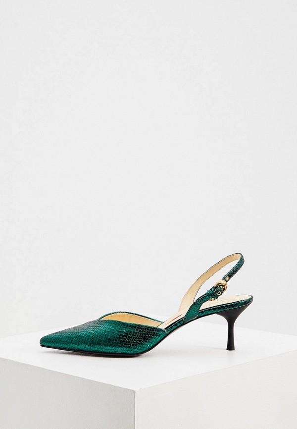 женские туфли fabi, зеленые