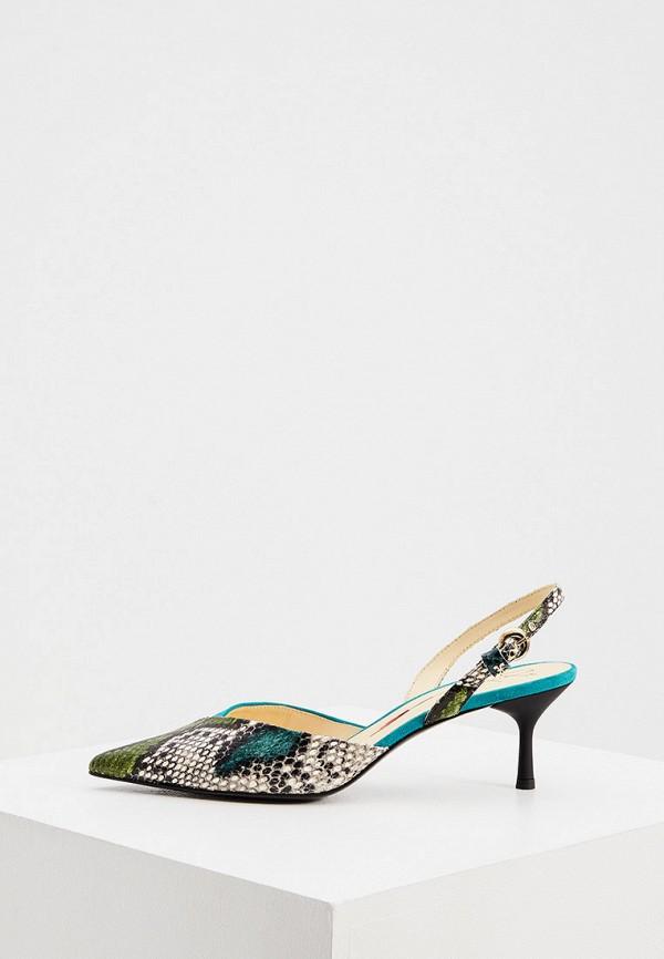 женские туфли fabi, разноцветные
