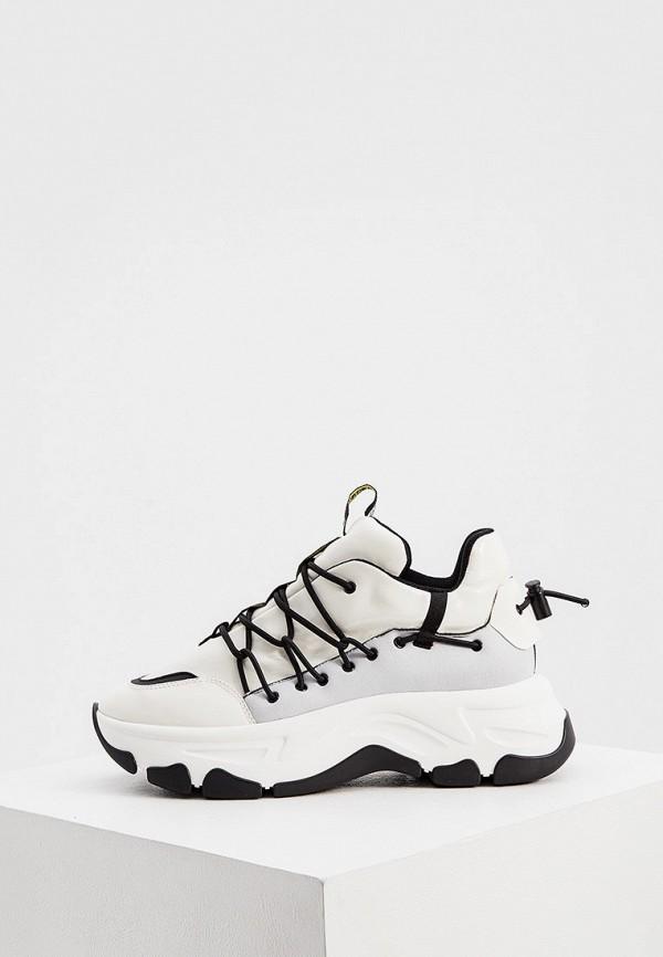 женские кроссовки fabi, белые