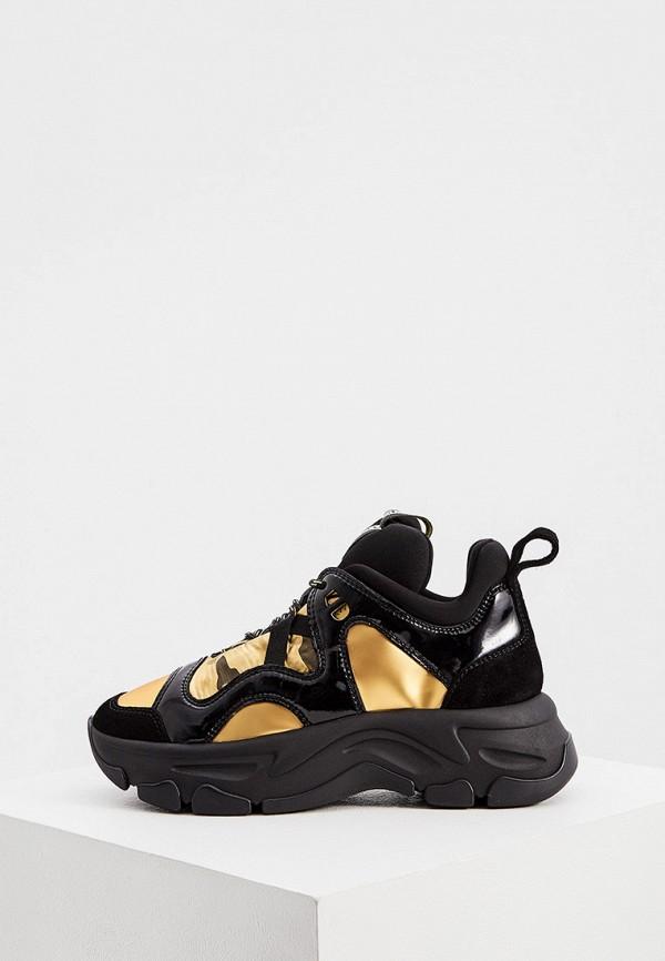 женские кроссовки fabi, черные