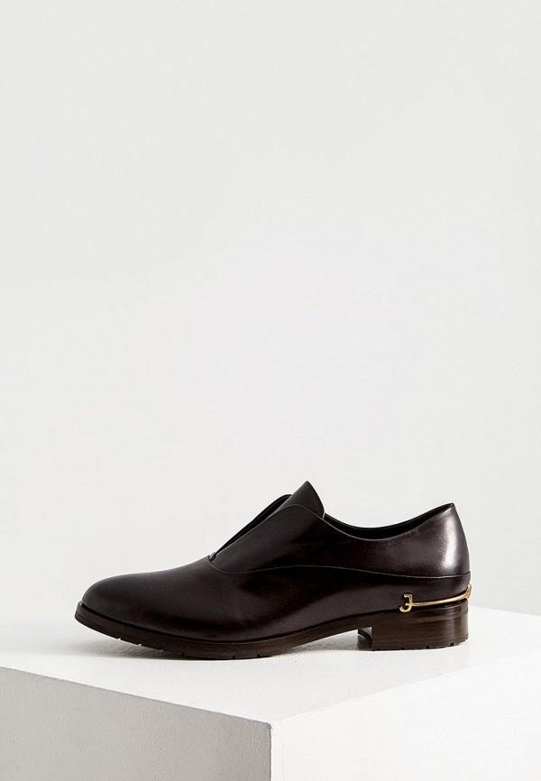 женские ботинки fabi, коричневые