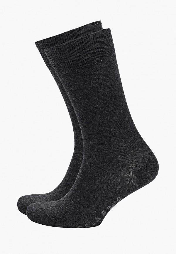 Фото - мужские носки Falke серого цвета