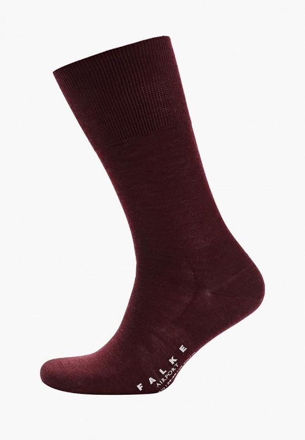 мужские носки falke, бордовые