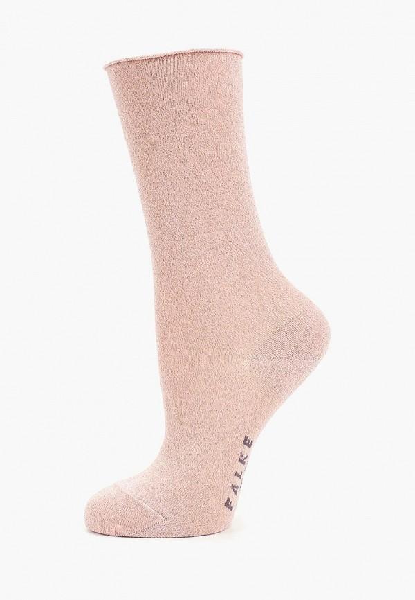 женские носки falke, розовые