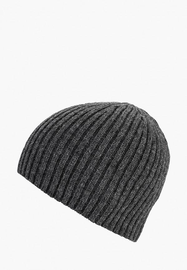 мужская шапка fete, серая