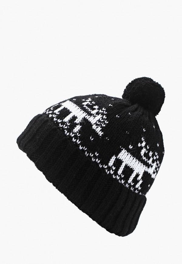 мужская шапка fete, черная