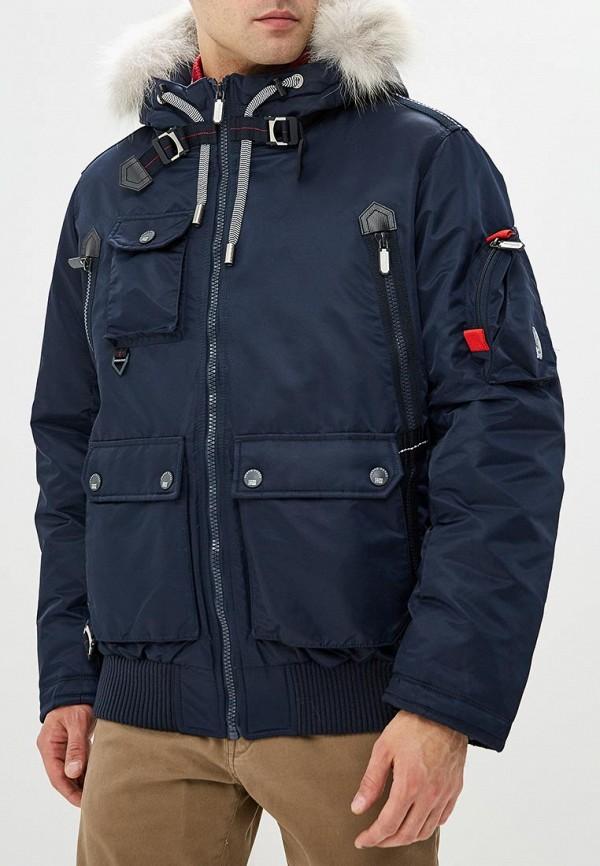мужская куртка fergo, синяя