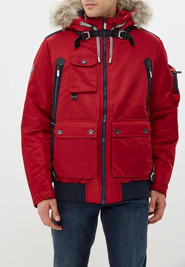Купить Куртка утепленная Fergo, FE015EMCWLA6, красный, Осень-зима 2018/2019