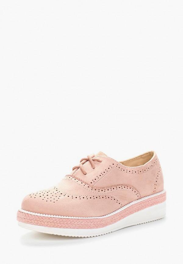 Купить женские ботинки и полуботинки Fersini розового цвета