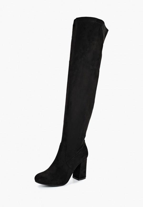 женские ботфорты fersini, черные
