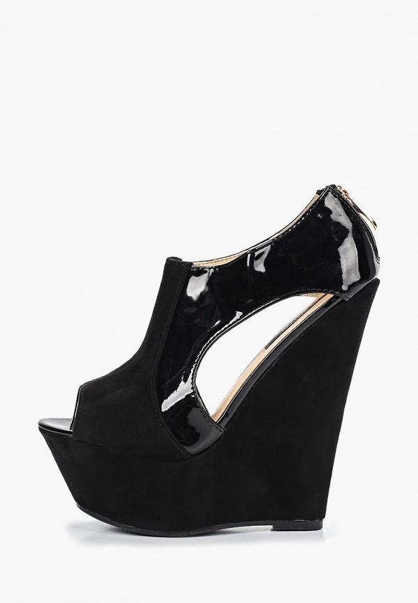 Фото - женские босоножки Fersini черного цвета