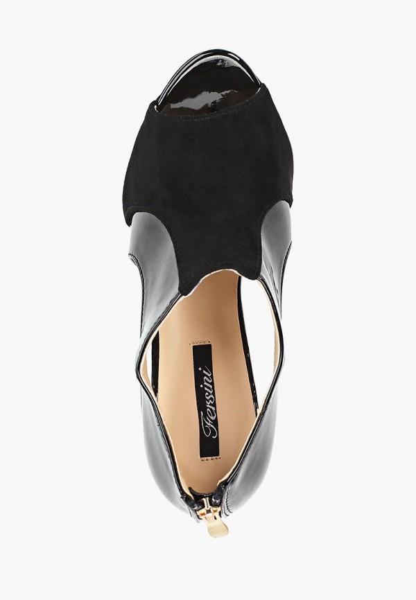 Фото 4 - женские босоножки Fersini черного цвета