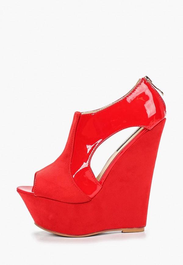 женские босоножки fersini, красные