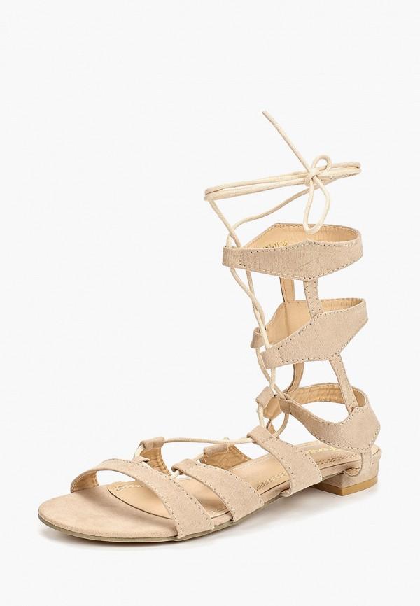 Фото 2 - женские сандали Fersini бежевого цвета