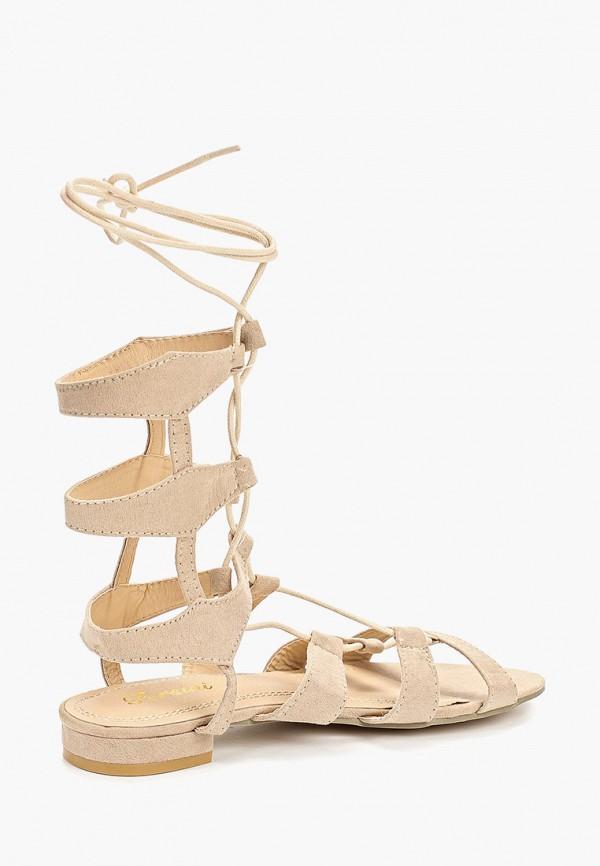 Фото 3 - женские сандали Fersini бежевого цвета
