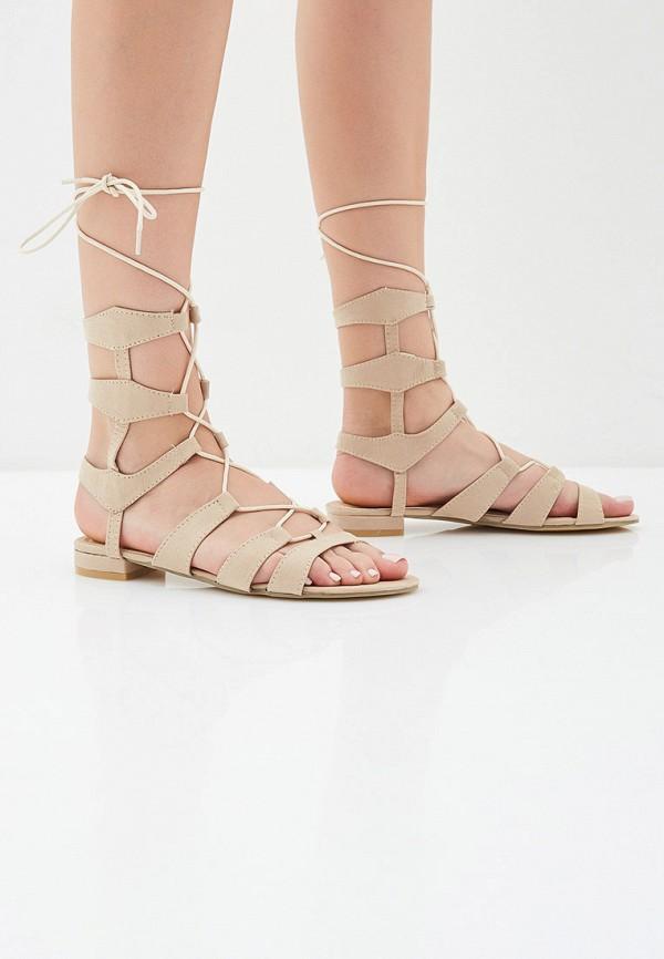 Фото 6 - женские сандали Fersini бежевого цвета