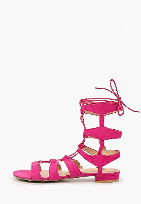 женские сандалии fersini, розовые
