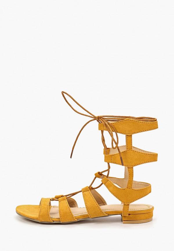 женские сандалии fersini, желтые