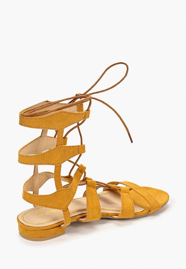 Фото 3 - женские сандали Fersini желтого цвета