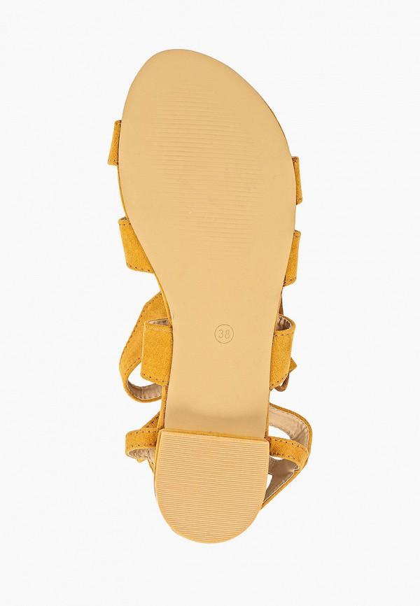 Фото 5 - женские сандали Fersini желтого цвета