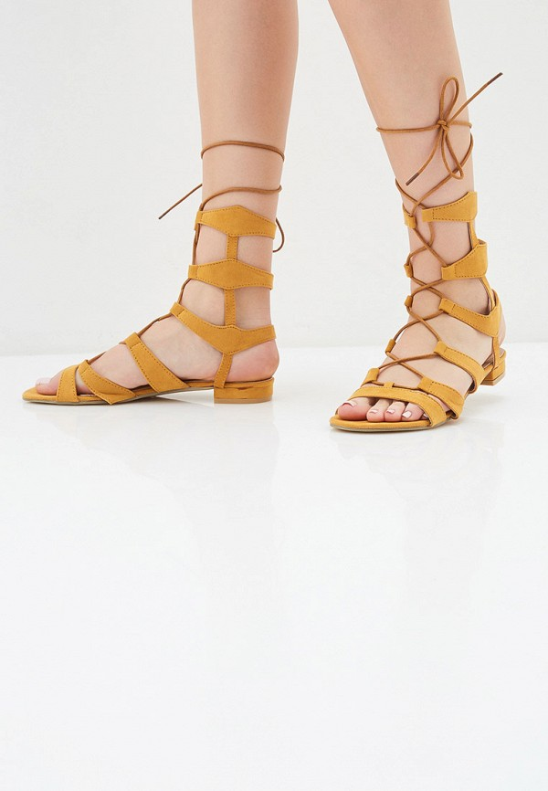Фото 6 - женские сандали Fersini желтого цвета