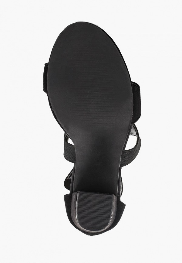 Фото 5 - женские босоножки Fersini черного цвета