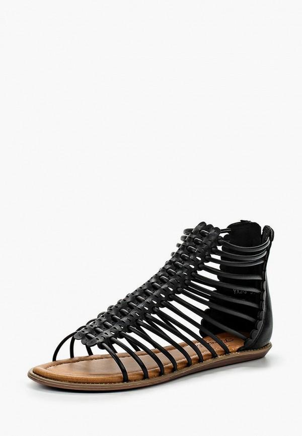 женские сандалии fersini, черные