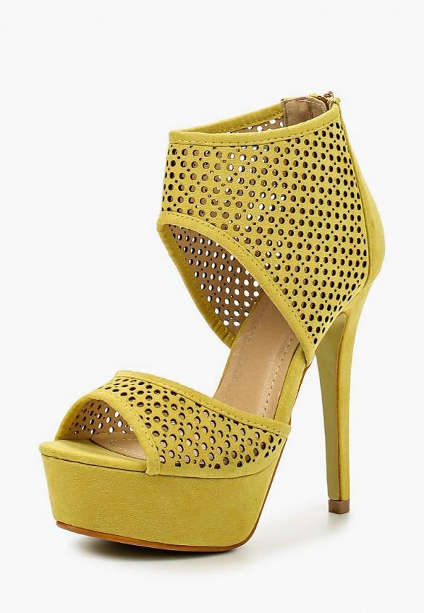 женские босоножки fersini, желтые