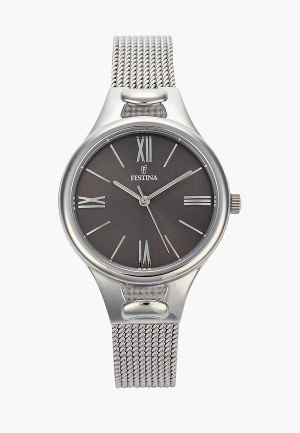 Купить Часы Festina, FE023DWSYE35, серебряный, Весна-лето 2018