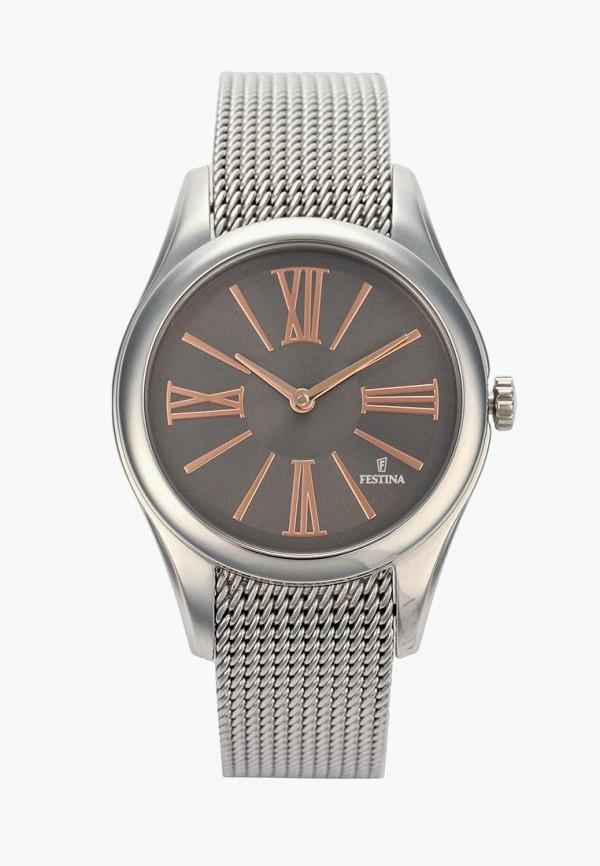 Купить Часы Festina, FE023DWSYE38, серебряный, Весна-лето 2018