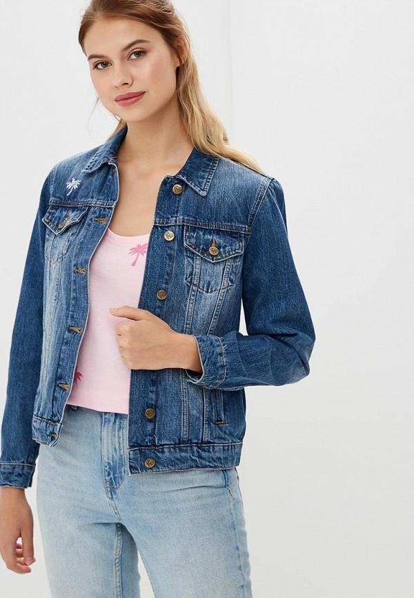 Купить Куртка джинсовая Femi Stories, FE027EWBQQO9, синий, Весна-лето 2018