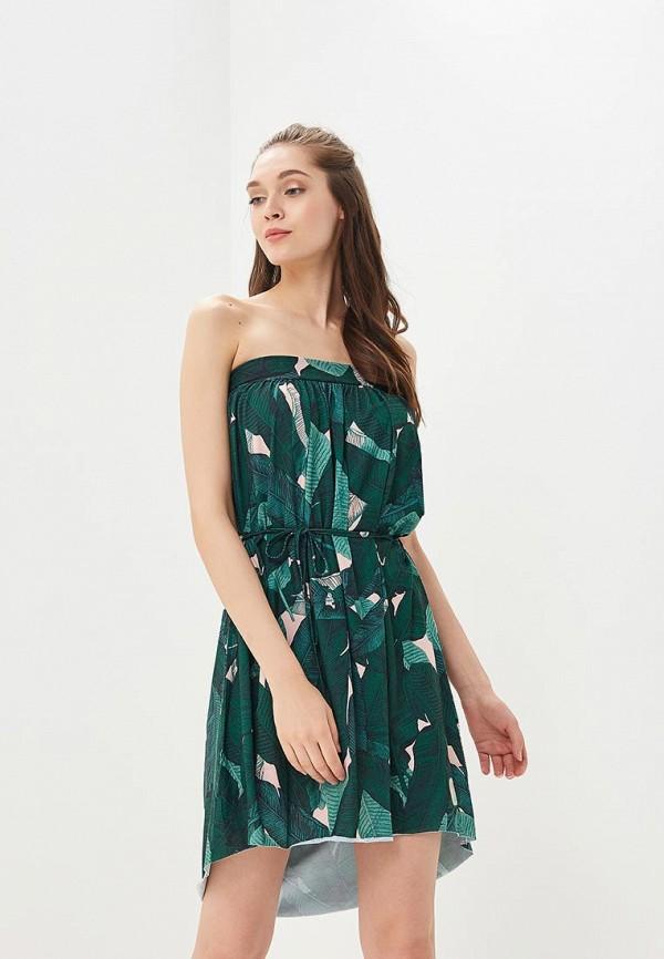 женское повседневные платье femi stories, зеленое