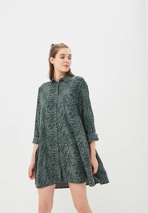 Купить Платье Femi Stories, FE027EWBQQS1, зеленый, Весна-лето 2018
