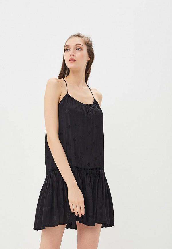 женское повседневные платье femi stories, черное