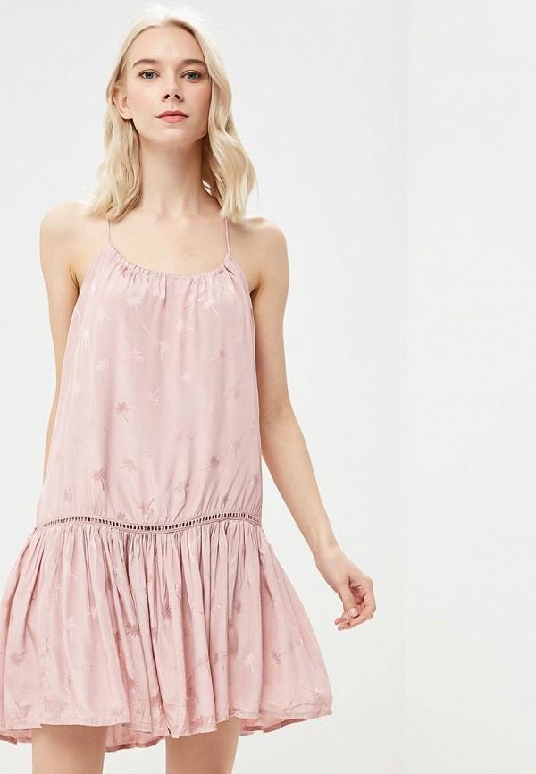 женское повседневные платье femi stories, розовое
