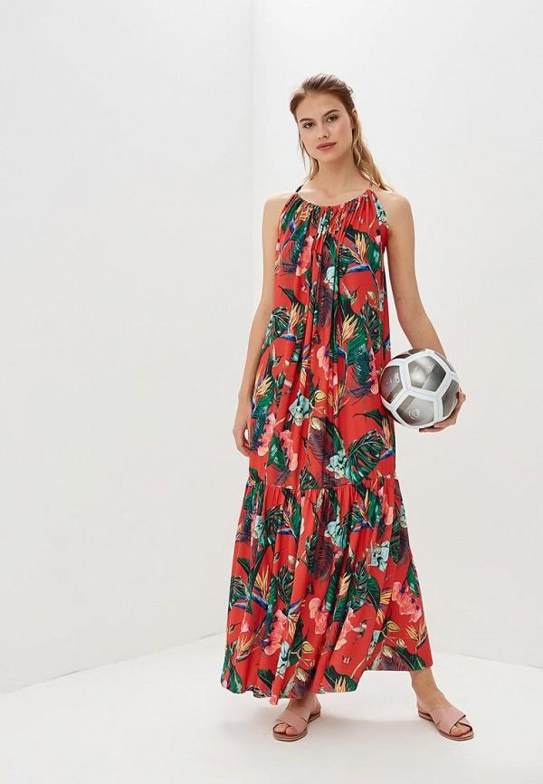 Купить Платье Femi Stories, FE027EWBQQT1, красный, Весна-лето 2018