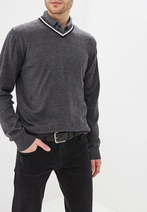 мужской пуловер felix hardy, серый