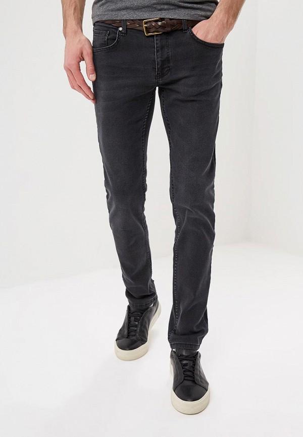 мужские зауженные джинсы felix hardy, серые
