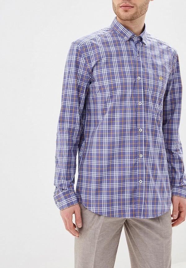 мужская рубашка с длинным рукавом felix hardy, фиолетовая