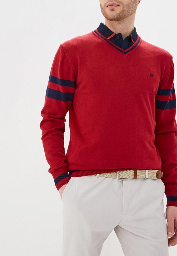 мужской пуловер felix hardy, бордовый
