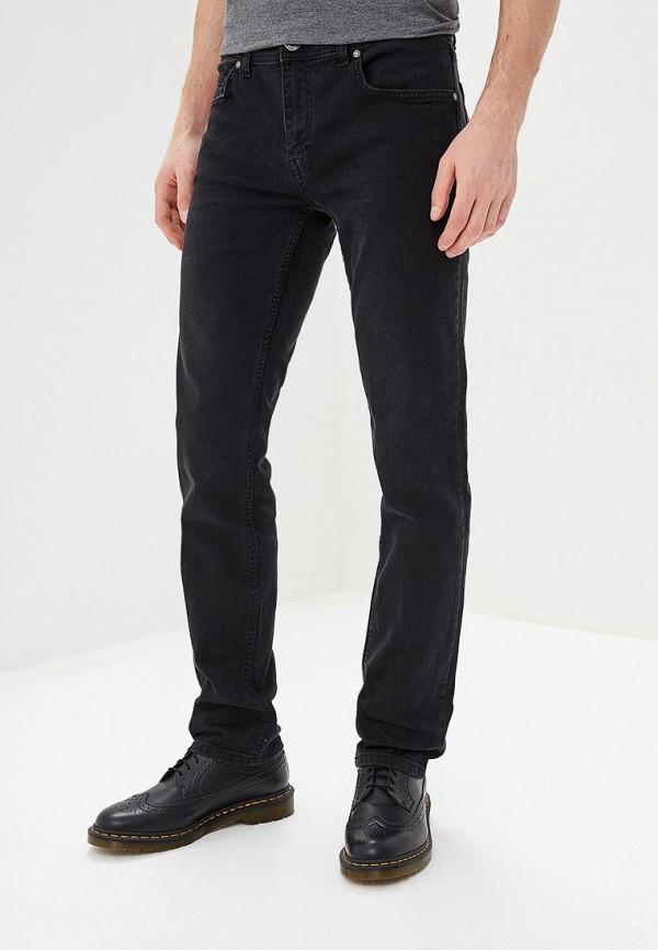 мужские прямые джинсы felix hardy, черные